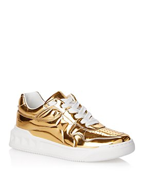 Valentino Garavani - Women's Metallic Sneakers