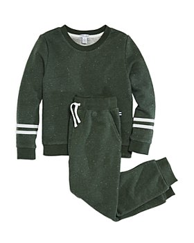 Splendid - Boys' Speckled Sweatshirt & Jogger Pants Set - Little Kid