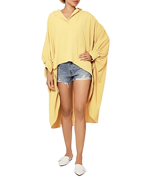 High Low Wide Shirt (30% off) Comparable value $85.50