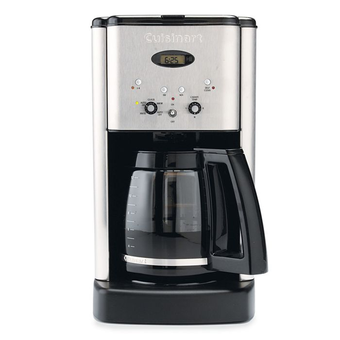 Cuisinart - Brew Central 12-Cup Programmable Coffee Maker