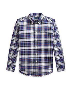 Ralph Lauren - Boys' Cotton Poplin Button Down Shirt - Little Kid, Big Kid