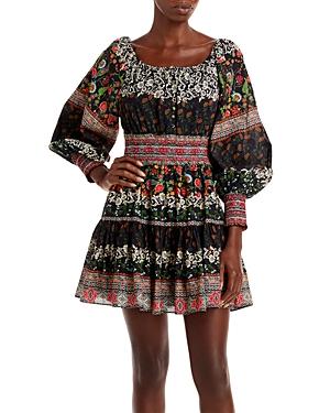 Clementina Printed Mini Dress