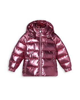 Stella McCartney - Girls' Metallic Puffer Coat - Little Kid, Big Kid