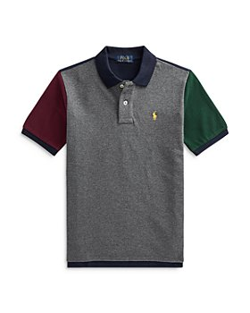 Ralph Lauren - Boys' Color Block Polo Shirt - Little Kid, Big Kid