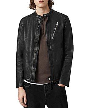 ALLSAINTS - FLoyd Leather Regular Fit Jacket