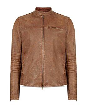 John Varvatos Star USA - Lex Leather Racer Jacket