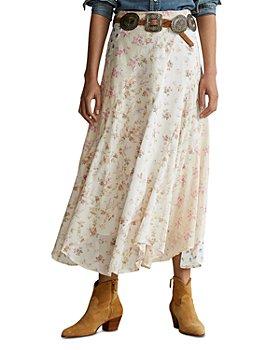 Ralph Lauren - Floral-Print Maxi Skirt