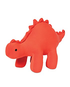 Manhattan Toy - Velveteen Dino Gummy (Stegosaurus) Stuffed Animal Dinosaur - Ages 0+