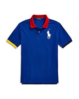 Ralph Lauren - Boys' Cotton Polo Shirt - Little Kid, Big Kid