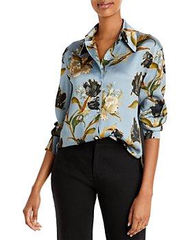 Vince - Nouveau Silk Floral Print Shirt