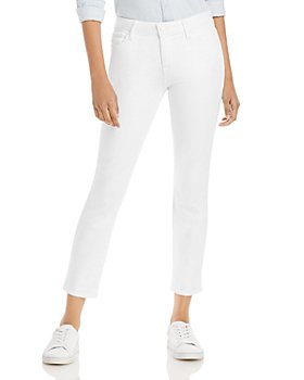 PAIGE - Brigitte Boyfriend Jeans in Crisp White