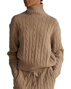 Ralph Lauren - Cable Knit Turtleneck Sweater