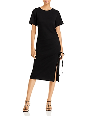 Ratha Side Tie Midi Dress