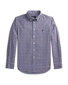 Ralph Lauren - Boys' Long Sleeve Button Down Shirt - Little Kid, Big Kid
