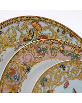 """Rosenthal Meets Versace - Versace By Rosenthal """"Butterfly Garden"""" Dinnerware"""
