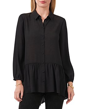 VINCE CAMUTO - Peplum Tunic Shirt