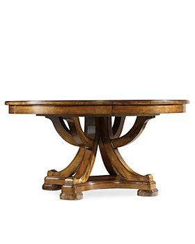 Hooker Furniture - Tynecastle Round Pedestal Dining Table