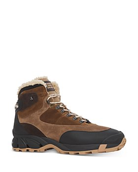 Burberry - Men's Suede Shearling Lined Hiking Boots