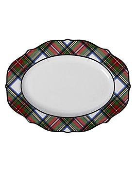 """Juliska - Stewart Tartan 15"""" Serving Platter"""