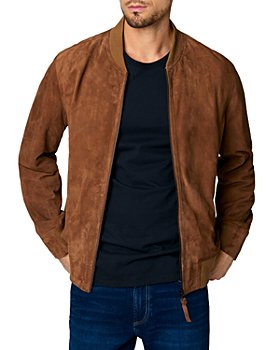 BLANKNYC - Quick Action Suede Bomber Jacket