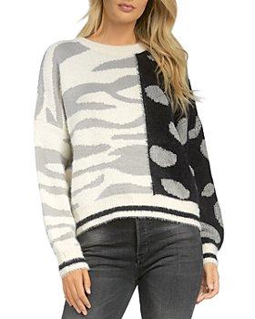 Elan - Mixed Animal Print Sweater