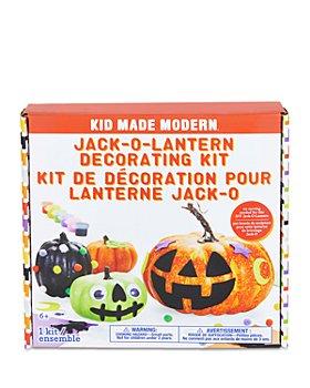 Kid Made Modern - Jack O Lantern Decorating Kit - Ages 6+