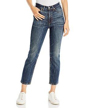 rag & bone - Nina High Rise Jeans in Tanzanite
