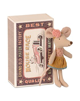 Maileg USA - Little Sister Mouse in Matchbox