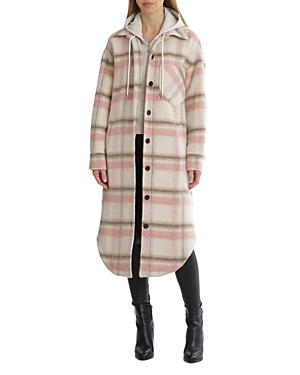 Plaid Hoodie Jacket