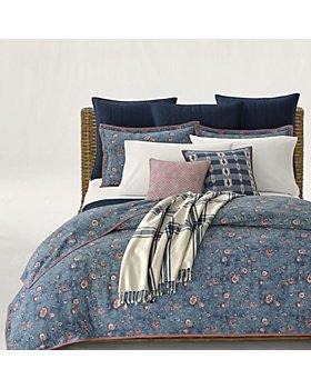Ralph Lauren - Indigo Traveler Bedding Collection