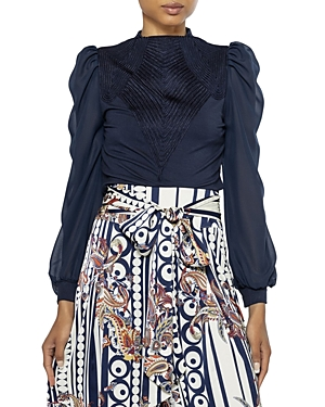 Chiffon Sleeve Top (39% off) Comparable value $82
