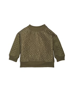 Burberry - Boys' Timothie Monogram Quilted Top - Little Kid, Big Kid