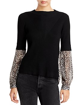 Fate - Woven Sleeve Sweater (41% off) - Comparable value $68