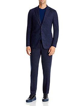 Theory - Clinton & Mayer Drawstring Melange Jersey Slim Fit Suit Separates