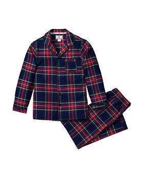 Petite Plume - Unisex Windsor Tartan Pajama Set - Baby, Little Kid, Big Kid