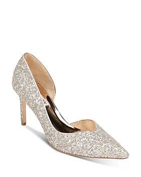 Badgley Mischka - Women's D'orsay Glitter Pumps