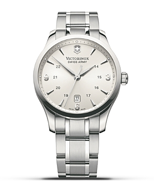 Victorinox Swiss Army Silver Alliance Watch, 40mm