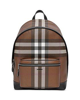 Burberry - E-Canvas Check Backpack