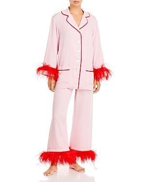 Sleeper Party Feather Trim Pajamas - 100% Exclusive