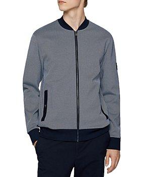 BOSS - Skiles Colorblocked Zip Front Sweatshirt