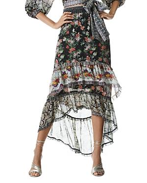 Caralie Ruffled Tiered Skirt