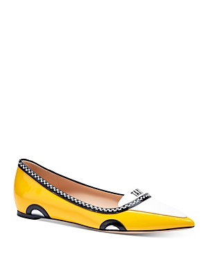 kate spade new york Women's Gogo Pointed Embellished Flats