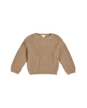 Miles The Label - Boys' Chunky Knit Organic Cotton Sweater - Little Kid, Big Kid