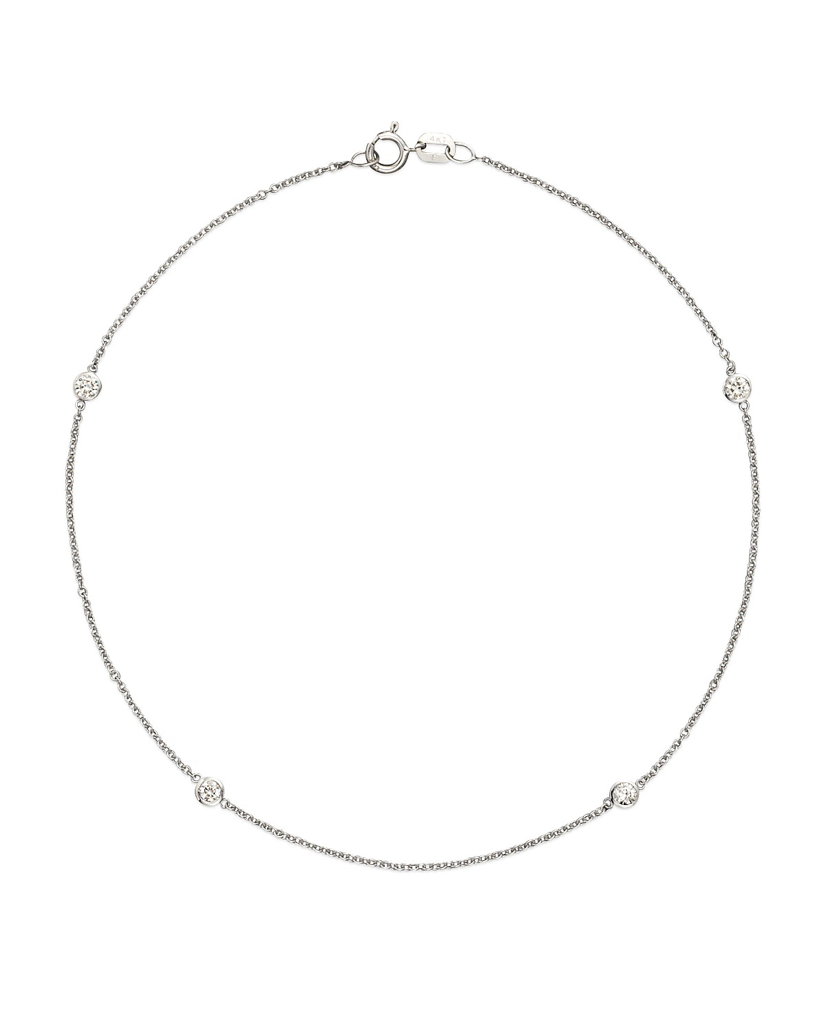 bracelet tennis bracelets jewelry classic with gold diamond design in anklet wg white nl