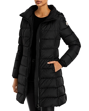 Moncler Gie Hooded Packable Down Puffer Coat