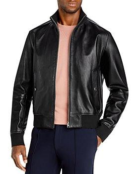 BOSS - Nafan Leather Jacket