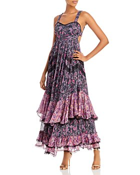 Rococo Sand - Printed Tiered Maxi Dress