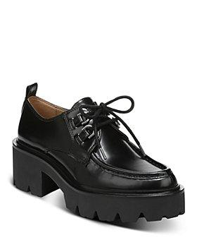 Sam Edelman - Women's Monna Lace Up Platform Loafers