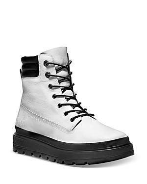 Timberland Women's Ray City 6 White Waterproof Cold Weather Boots