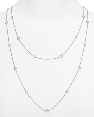 Nadri Bezel Chain Necklace, 16